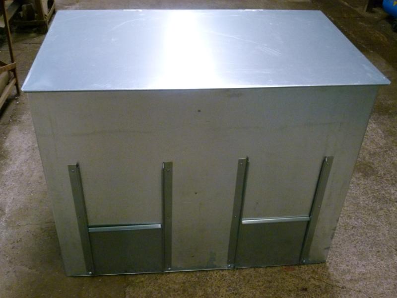 Galvanised Coal Bunkers Amp Galvanised Dual Fuel Storage