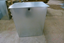 Corn Storage Bin front view