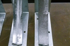 Heavy Duty Brackets close up