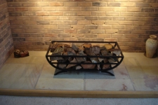 Bespoke Ornamental Log Basket