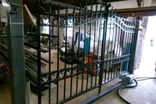 The Harwick automated gate ready to leave our factory