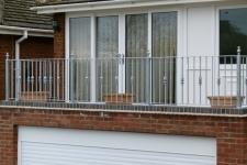 Galvanized balcony