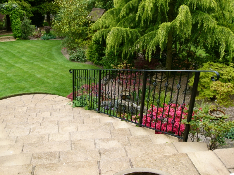Railings And Handrails Wrought Iron Galvanized Amp Powder Coated