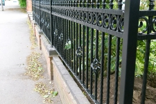 Bespoke heavy duty railings