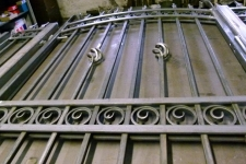 Bespoke heavy duty gates