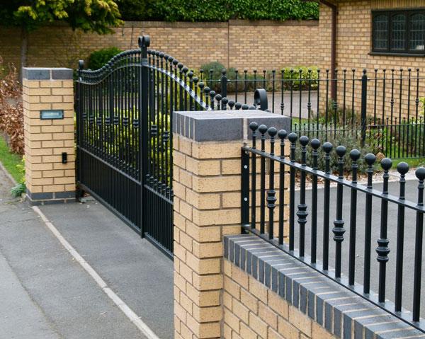 Bespoke Custom Made Wrought Iron Gates Railings Handrails